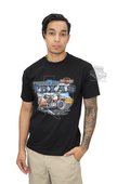 ** SMALL & BIG SIZES ONLY ** Harley-Davidson® Mens Tough As Texas Motorcycle Black Short Sleeve T-Shirt 30294012