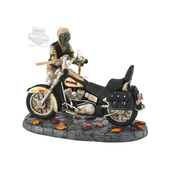 Harley-Davidson® Mummimizing My Ride Motorcycle Halloween Brown Village Model Accessory by Dept. 56 4051019