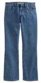 Harley-Davidson® *GMAR* Mens Original Boot Cut Blue Jean Denim Pants 99026-07VM