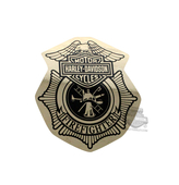 Harley-Davidson® Firefighter Original Gold Paper Small Decal DC1265262