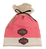 Harley-Davidson® Gift Set 2Pc Pk/Wh Hats