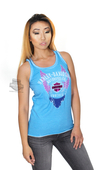 ** SMALL SIZES ONLY ** Harley-Davidson® Womens Tattered Wings HDMC Forever Blue Sleeveless Tank