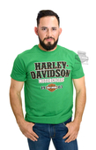 Harley-Davidson® Mens Lucky 1903 B&S Green Short Sleeve T-Shirt