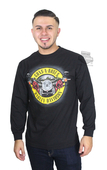 Harley-Davidson® Mens Cover Guns N' Roses Black Long Sleeve T-Shirt