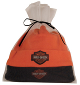 Harley-Davidson® Gift Set 2Pc Black & Orange Hats