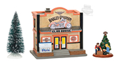 Harley-Davidson® H-D Clubhouse 3PC Box Set Village Model Accessory by Dept. 56 4056176