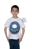 Harley-Davidson® Boys Youth Biker Brand II Willie G Skull White Short Sleeve T-Shirt *48HR*