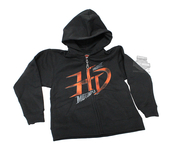 ** TODDLER SIZE ONLY ** Harley-Davidson® Boys Youth Ultimate Eagle HD Full Zip Black Long Sleeve Hoodie *CIJ*