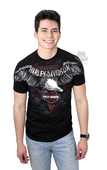 ** SIZE X-LARGE ONLY ** Harley-Davidson® Mens Bold Journey Eagle with Bike Chain Black Short Sleeve T-Shirt *36H2*