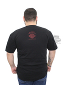** BIG SIZES ONLY ** Harley-Davidson® Mens Assessed and Obsessed Skull Rider Black Short Sleeve T-Shirt 5503-HB9J