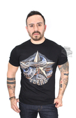Harley-Davidson® Mens Texas Rattlesnake with Star Black Short Sleeve T-Shirt