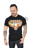 Harley-Davidson® Mens Texas Western Steer Black Short Sleeve T-Shirt