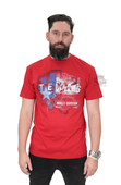 ** BIG SIZES ONLY ** Harley-Davidson® Mens Texas Land Of The Free Red Short Sleeve T-Shirt