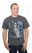 Harley-Davidson® Mens Texas Day of the Dead Pinup Charcoal Short Sleeve T-Shirt