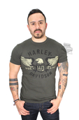 ** SIZE SMALL & BIG SIZES ONLY ** Harley-Davidson® Mens Finding Fate Eagle Green Short Sleeve T-Shirt
