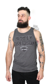 Harley-Davidson® Mens Against Fate B&S Charcoal Sleeveless Tank