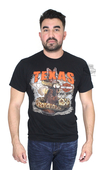 Harley-Davidson® Mens Texas State Snake with Boot Black Short Sleeve T-Shirt