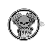 Harley-Davidson® Mens Engine with Willie G Skull Cutout 1.75