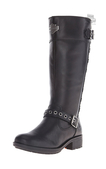 Harley-Davidson® Womens Annadale Black Leather High Cut Boot