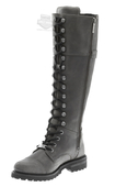 Harley-Davidson® Womens Beechwood Grey Leather High Cut Boot