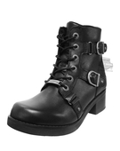 Harley-Davidson® Womens Bonsallo Black Leather Low Cut Boot