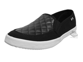 Harley-Davidson® Womens Glassell Quilted Black Canvas Casual Shoe