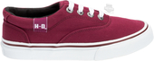 Harley-Davidson® Womens Layton Burgundy Canvas Casual Shoe