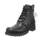 Harley-Davidson® Womens Asher Black Leather Low Cut Boot