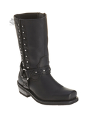 Harley-Davidson® Womens Auburn Black Mid Cut Boot - H-D® Dealer Exclusive