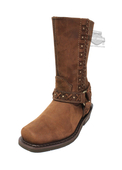 Harley-Davidson® Womens Auburn Brown Mid Cut Boot - H-D® Dealer Exclusive