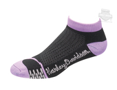 Harley-Davidson® Womens Coolmax® Performance Rider Low Cut Purple Poly Blend Socks