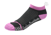 Harley-Davidson® Womens Coolmax® Performance Rider Low Cut Pink Poly Blend Socks