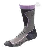 Harley-Davidson® Womens Coolmax® Performance Crew Riding Purple Poly Blend Socks