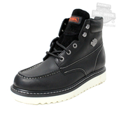 Harley-Davidson® Mens Beau Black Leather Low Cut Boot