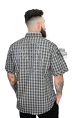 Harley-Davidson® Mens Cloud Wash Plaid Short Sleeve Woven Shirt