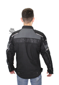 ** BIG SIZES ONLY ** Harley-Davidson® Mens Fairfax Windproof Reflective Riding Black Functional Jacket
