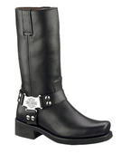 ** SIZE 8 ONLY ** Harley-Davidson® Mens Iroquois Black High Cut Riding Boot - H-D® Dealer Exclusive
