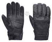 ** BIG SIZES ONLY ** Harley-Davidson® Mens Revolve Distressed Comfort Seams Charcoal Leather Full Finger