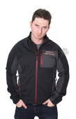 ** MEDIUM & BIG SIZES ONLY ** Harley-Davidson® Mens Furor Windproof Performance Soft Shell Grey Casual Jacket