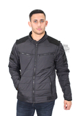 Harley-Davidson® Mens Burnside Avenue Quilted 3M™ Thinsulate™ Convertible Black Casual Jacket