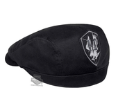 ** SIZE SMALL ONLY ** Harley-Davidson® Mens Eagle Patch Black Cotton Ivy Cap *2DY*