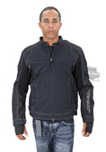Harley-Davidson® Mens Fortify Waterproof Reflective Riding Black Functional Jacket *48HR*