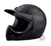Harley-Davidson® Mens Stinger Trademark B&S B14 Black Full Face Helmet