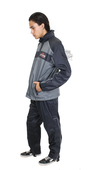 ** SIZE 5X ONLY ** Harley-Davidson® Mens Roadway Reflective Grey Rain Suit 98239-13VM