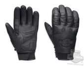 Harley-Davidson® Mens Circuit Reflective with Goggle Wiper Full Finger Glove