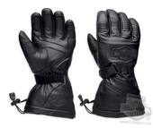 Harley-Davidson® Mens Circuit Waterproof with Goggle Wiper Gauntlet Glove