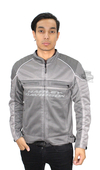 Harley-Davidson® Mens Affinity Mesh Riding Reflective Grey Functional Jacket