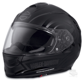 Harley-Davidson® Mens Frill Airfit™ Liner X03 with Sun Shield Black Full Face Helmet