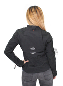 Harley-Davidson® Womens Esteem Soft Shell Windproof Water Resistant Black Functional Jacket