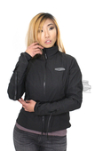 Harley-Davidson® Womens Heated One-Touch Programmable 12V Liner Black Functional Jacket